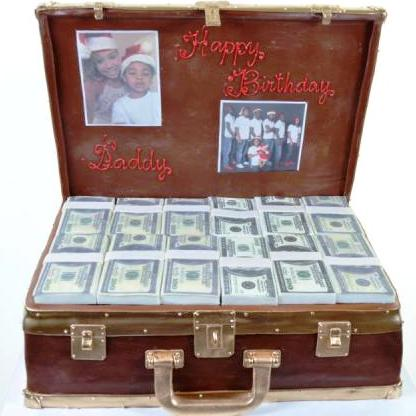 Pastry Palace Las Vegas - Cake 1123 - Case of Cash