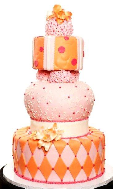 Pastry Palace Las Vegas - Wedding Cake 1149