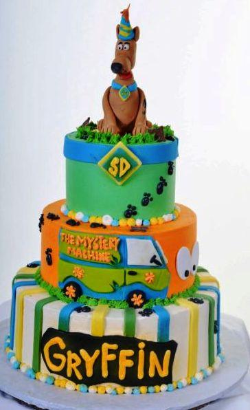 Scooby-Doo Cake 1039