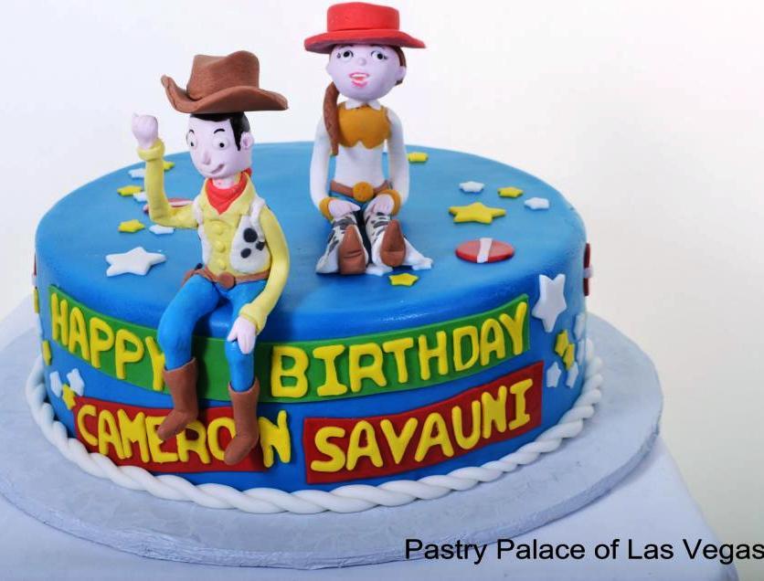 Toy Story Couple Cake 1074