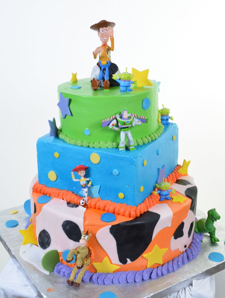 Toy Story Cast Party Cake 1076
