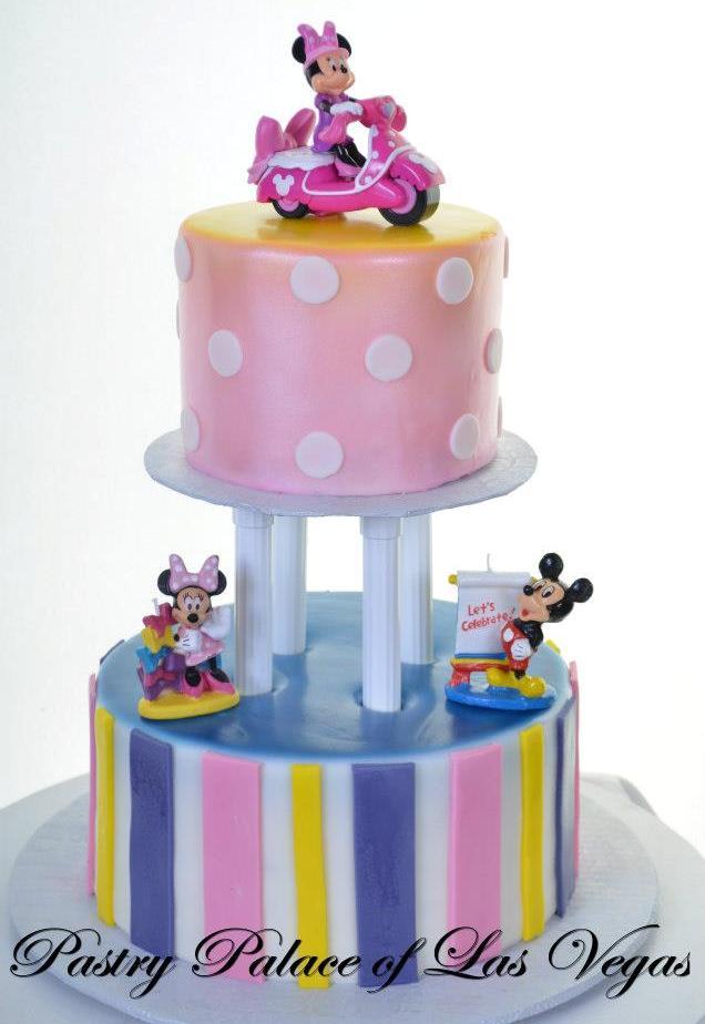 Pastry Palace Las Vegas - Cake 1202 - Mickey & Minnie Birthday