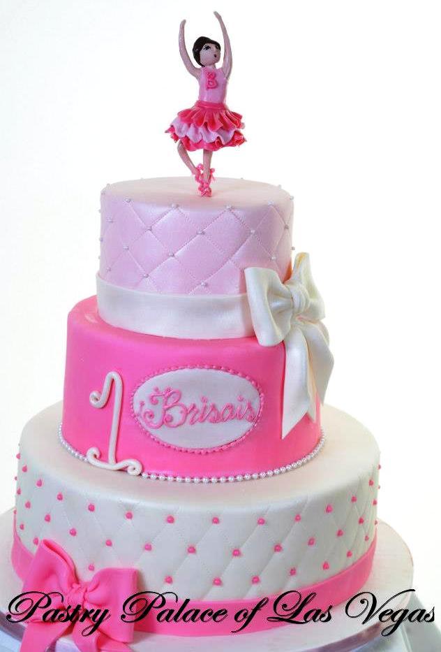 Pastry Palace Las Vegas Kids Cake 1205 - Pink Ballerina