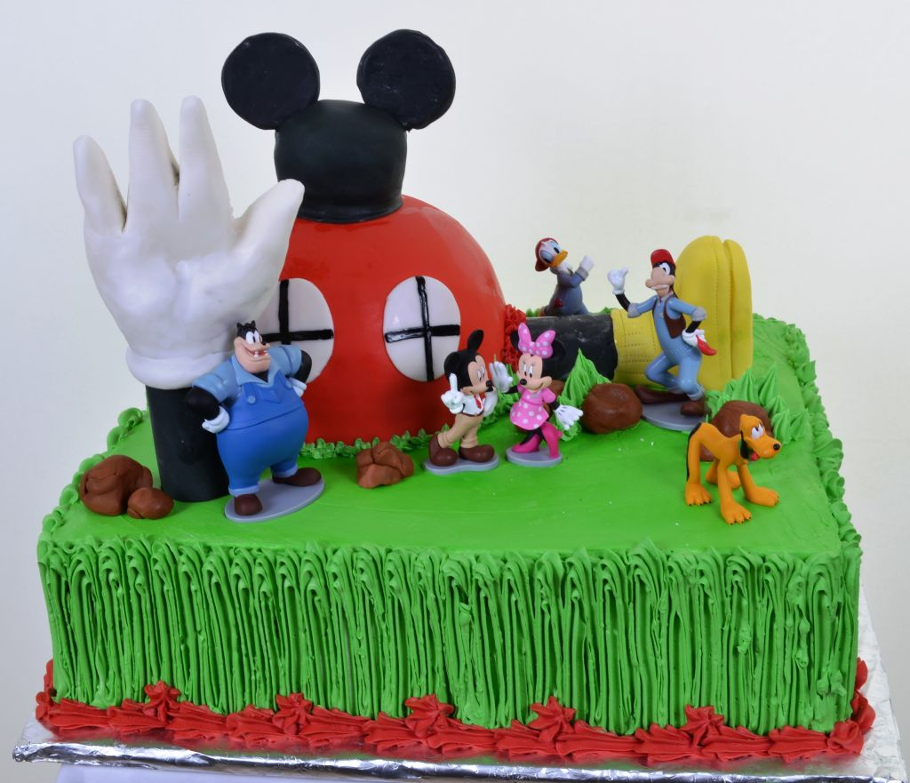 Cartoon Character Cakes For Kids Wedding