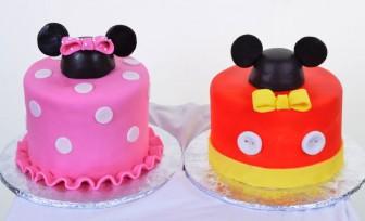 Pastry Palace Las Vegas - Cake 621 - Mickey & Minnie