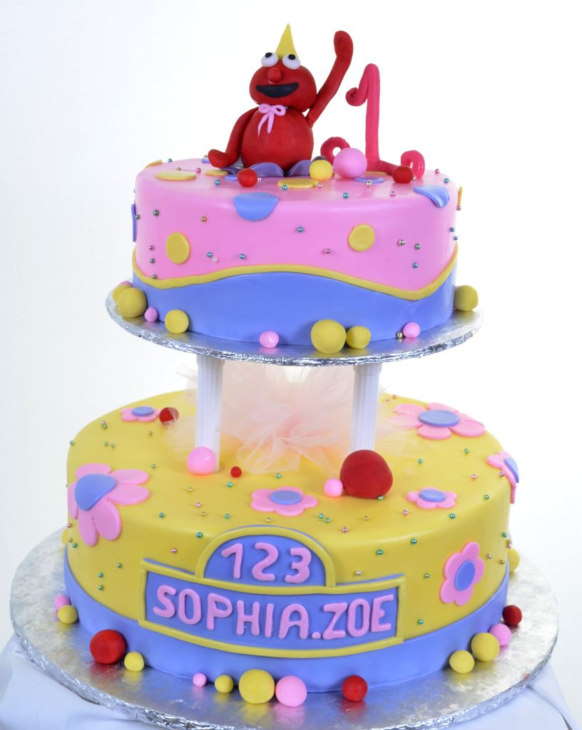 Sesame Street Cake 681
