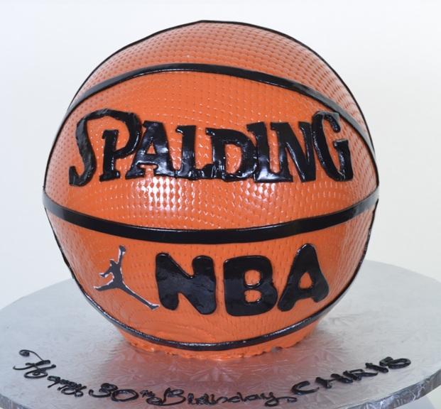 Pastry Palace Las Vegas - Cake #396 - Basketball