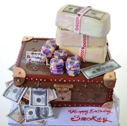 Pastry Palace Las Vegas - Cake 1290 - Big Bucks