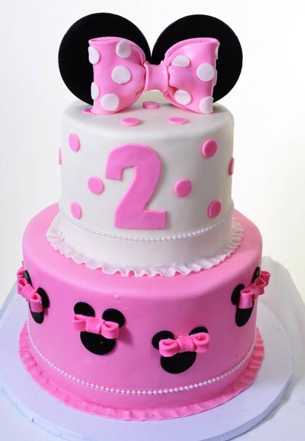 Pastry Palace Las Vegas - Cake 1320 - Minnie Birthday