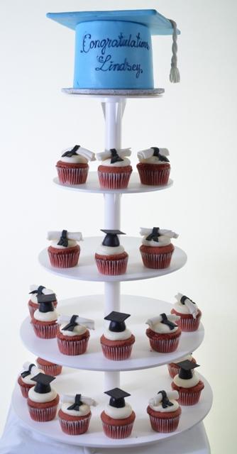 Pastry Palace Las Vegas Cupcakes #1328-Graduation