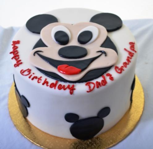 Pastry Palace Las Vegas - Cake 1335 - Mickey's Day