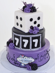 Pastry Palace Las Vegas Wedding Cake 592 - Las Vegas Luck