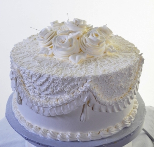 Pastry Palace Las Vegas - Cake 1364 - White Wedding
