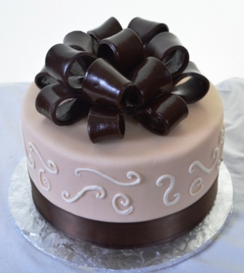 Pastry Palace Las Vegas - Cake 1365 - Black Bow