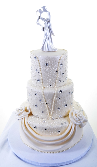 Pastry Palace Las Vegas Cake #1372 - Sparkling Gown