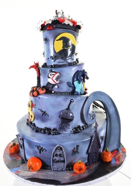Pastry Palace Las Vegas Cake #1382 - Nightmares