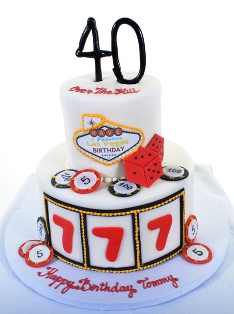 1386 Birthday In Vegas Wedding Cakes