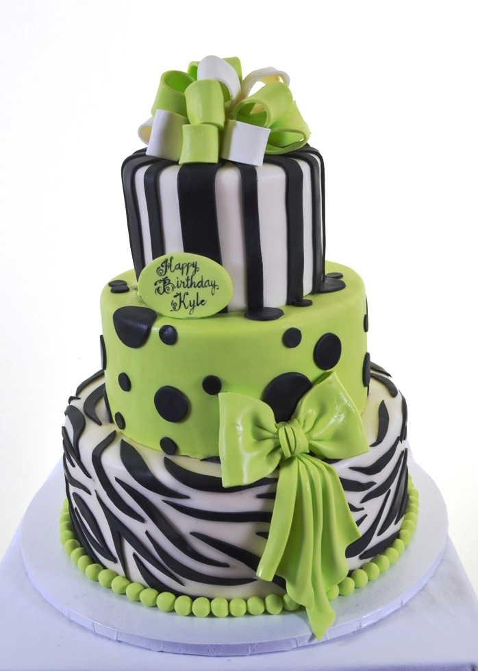 1408 Spotted Lime Zebra