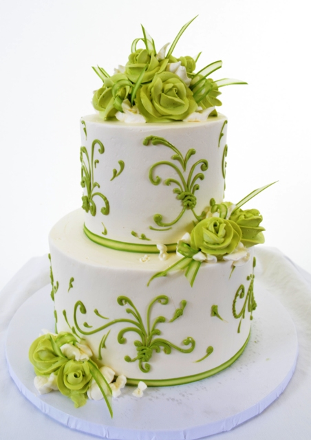 Pastry Palace Las Vegas Cake #1416-Fresh & Green