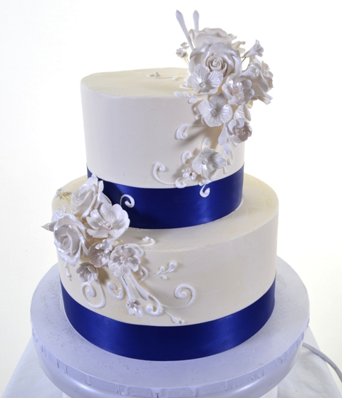 Wedding Cake Ideas Royal Blue: Las Vegas Wedding Cakes