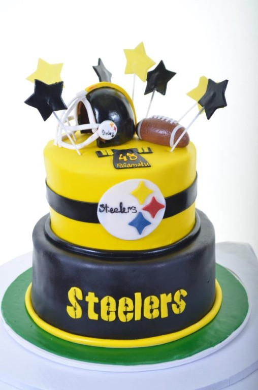 Pastry Palace Las Vegas - Cake 1144 - Steelers Fan