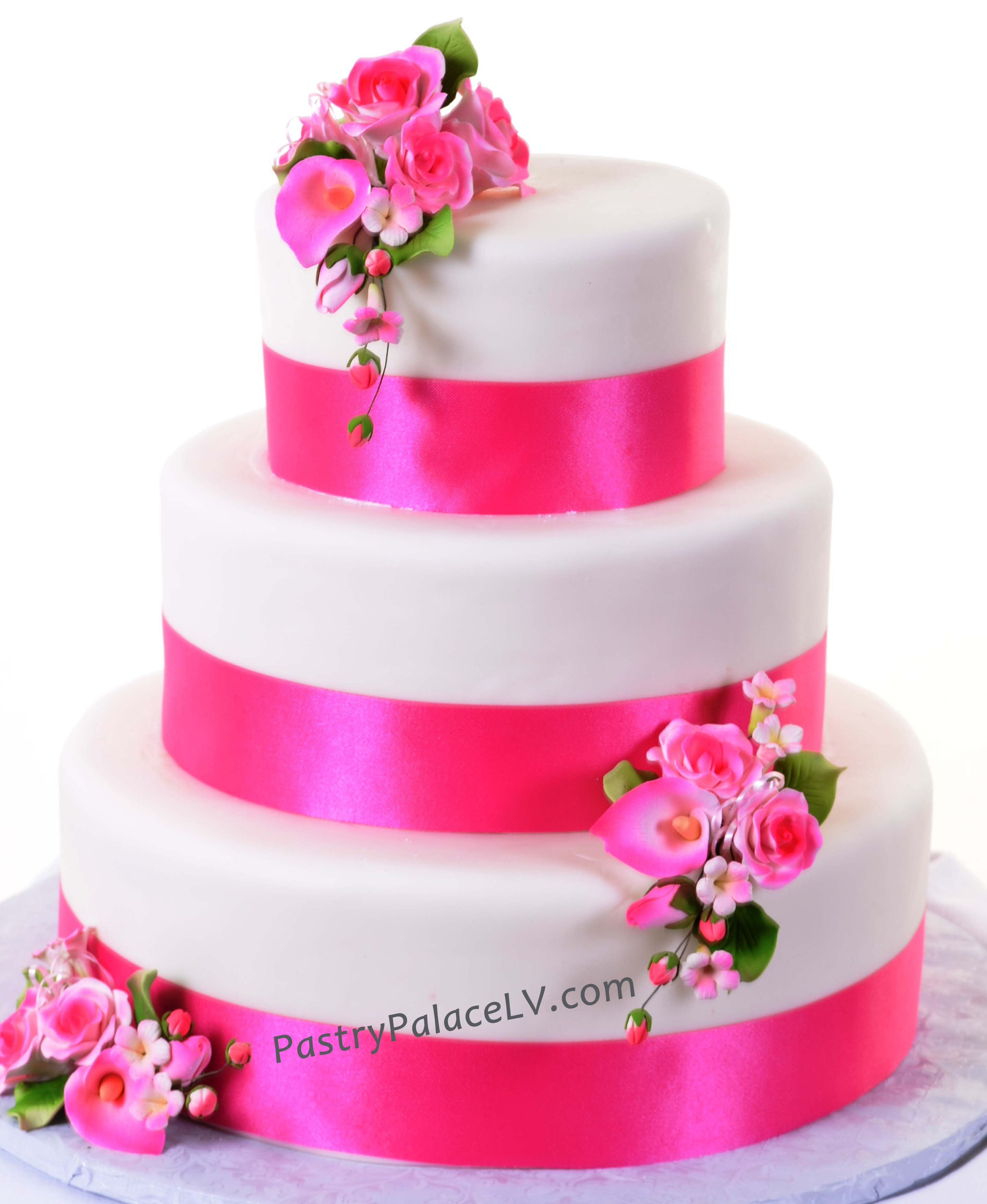 Pastry Palace Las Vegas - Cake 931 - Pretty In Pink