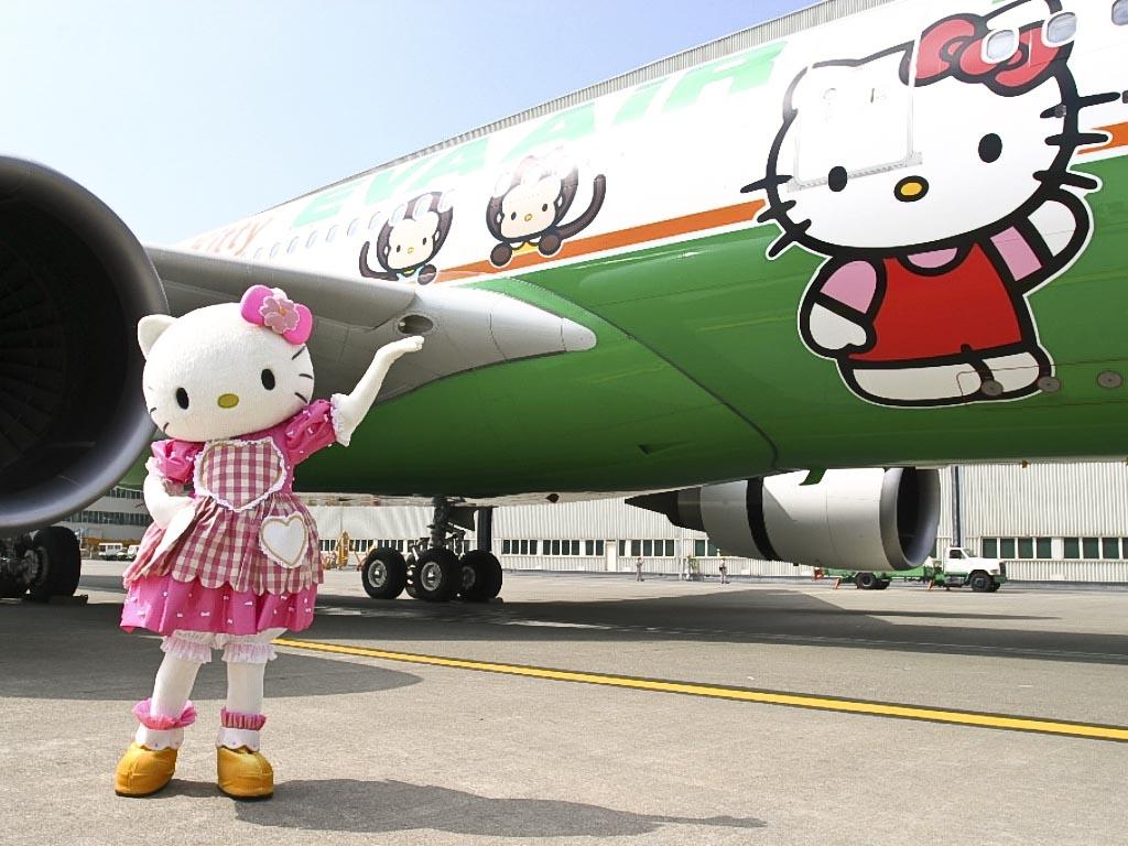 Hello Kitty Airbus