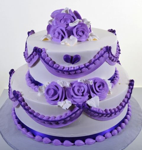 1481 Lavender Dreams Wedding Cakes Fresh Bakery