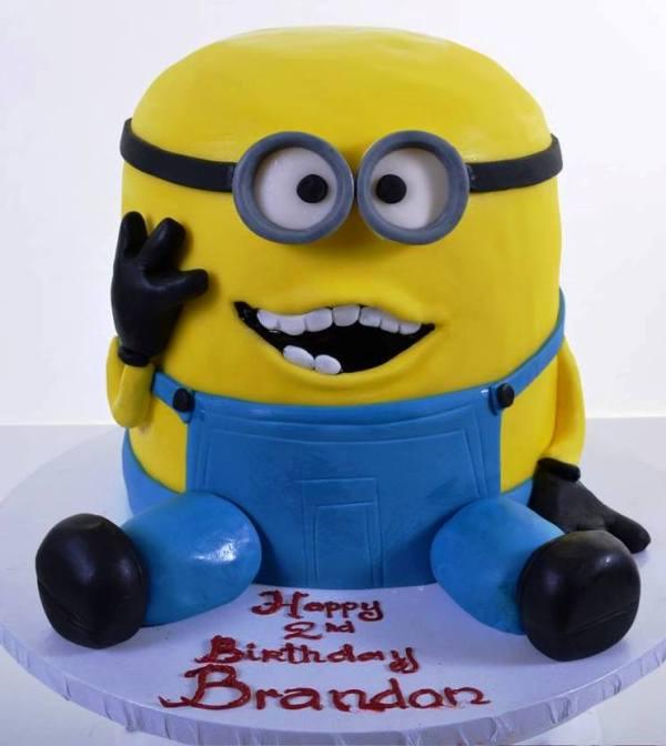 Pastry Palace Las Vegas - Birthday Cake #1504 - Happy Minion Birthday