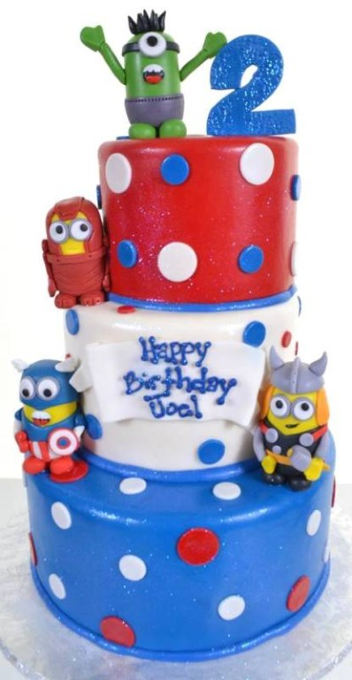 Pastry Palace Las Vegas - Birthday Cake #1539 - A Plethora of Minions