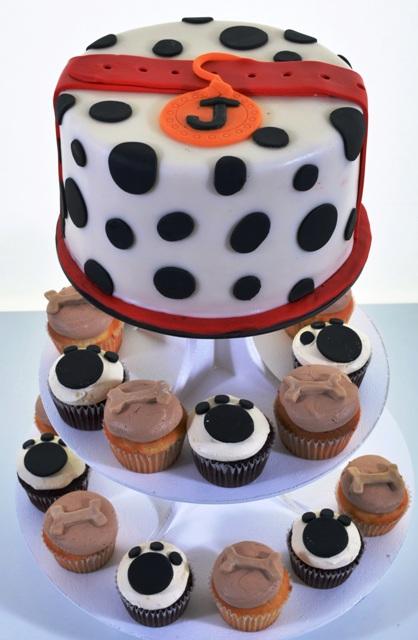 Pastry Palace Las Vegas Cupcakes #1559 - Dalmation Spots