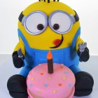 Pastry Palace Las Vegas - Birthday Cake #1581 - Despicable Me, Party of One