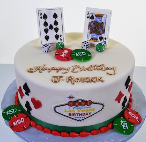 Las Vegas Theme Cakes Wedding Cakes