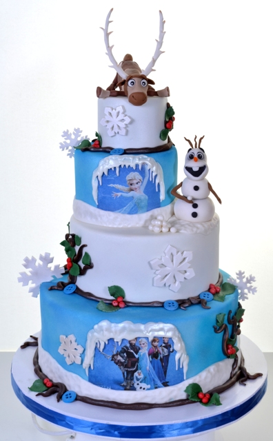 Pastry Palace Kids Cake #1623 - Frozen Tiers