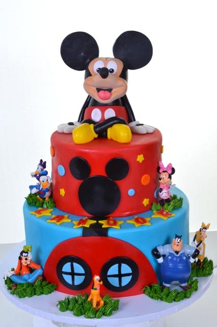 Pastry Palace Las Vegas Kids Cake #1627 - Party With Mickey