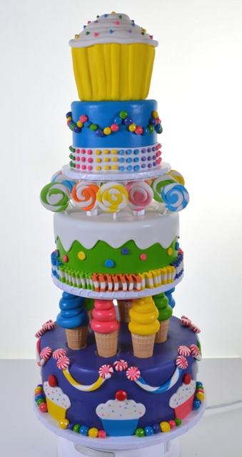 Pastry Palace Las Vegas - Cake #1634 - Sweet Tiers