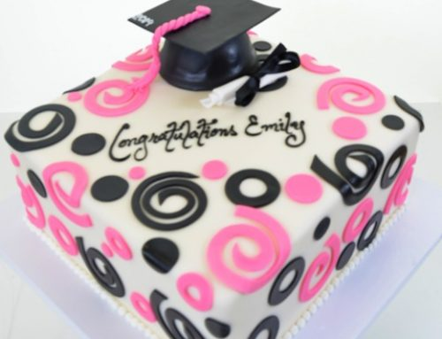 1745 – Graduation in Pink & Black