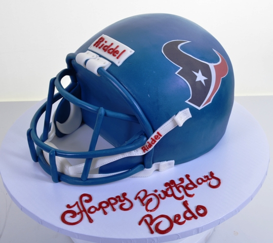 1792 Houston Texans Wedding Cakes