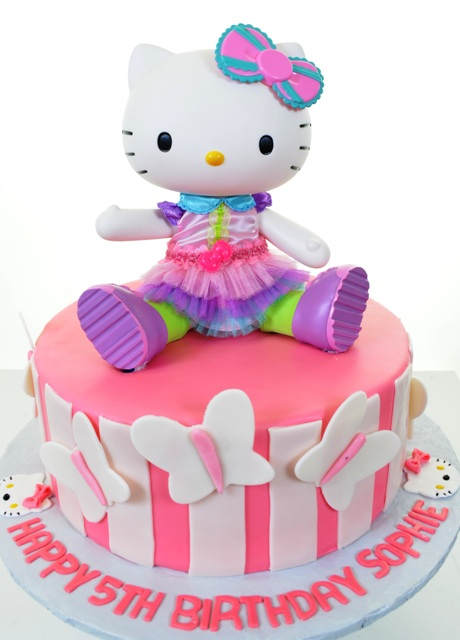 1820 - Hello Kitty with Butterflies