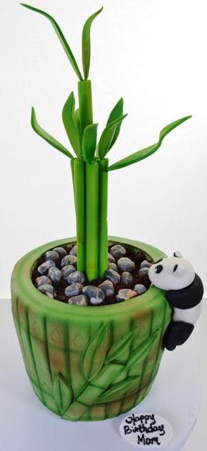 1861 - Bamboo & Baby Panda