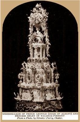 Prince Leopold Wedding Cake
