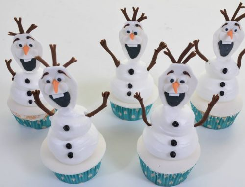 1918 – Olaf Cupcakes (Frozen)