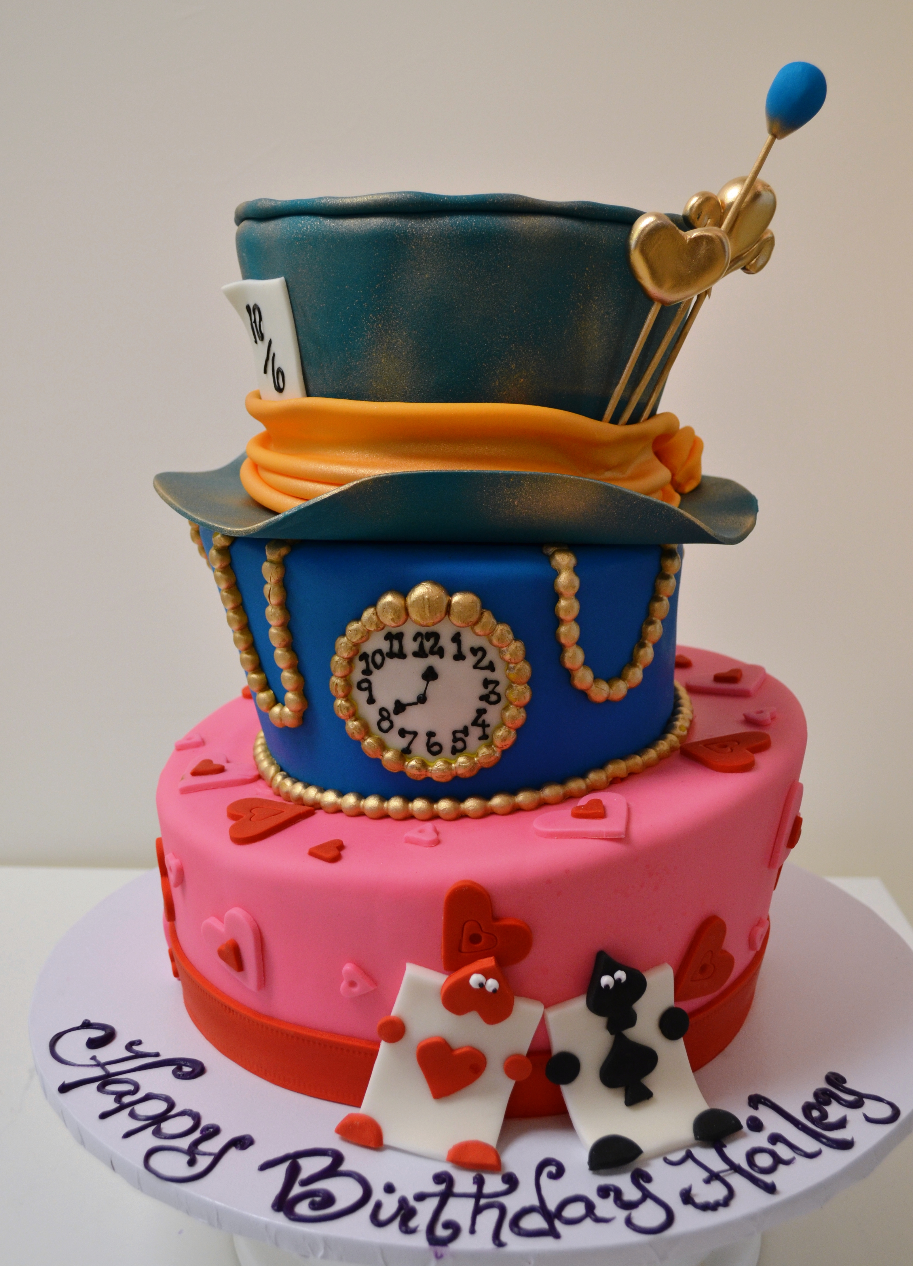 How about a Topsy Turvy Cake for your Wedding Day?